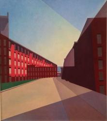 Charles Sheeler, Amoskeag mills.