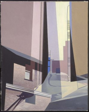 Charles Sheeler, New England irrelevancies.