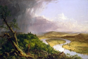 Thomas Cole, The Connecticut River near Northampton