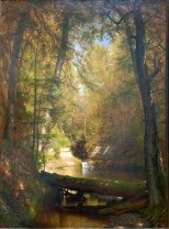 Worthington Whittredge, The trout pool.