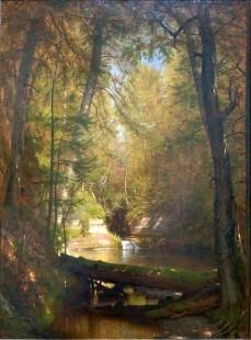 Worthington Whittredge, The trout pool.