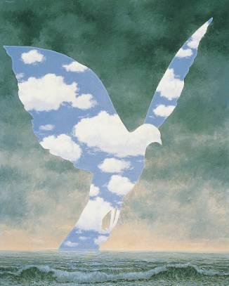 René Magritte, La grande famiglia.