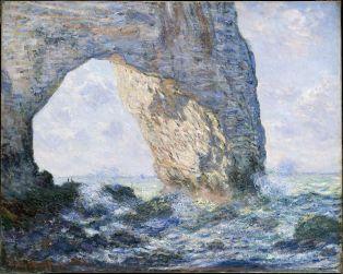 Claude Monet, La manneporte et