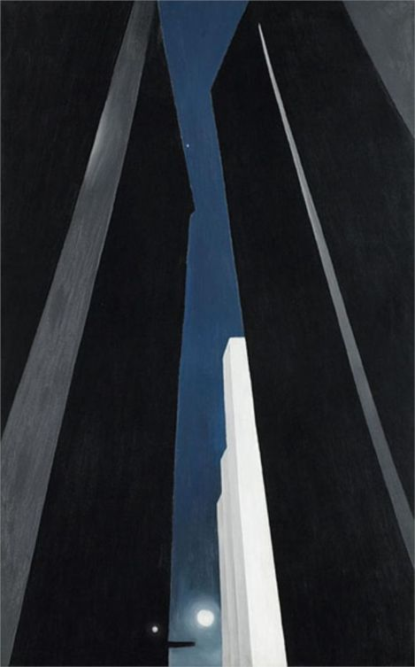 Georgia O'Keeffe, City night.