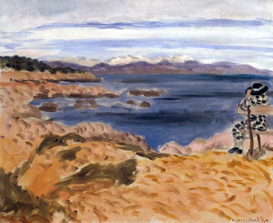 Cap d'Antibes 1922 by Henri Matisse 1869-1954