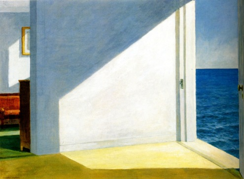 Edward Hopper, Rooms by the sea.