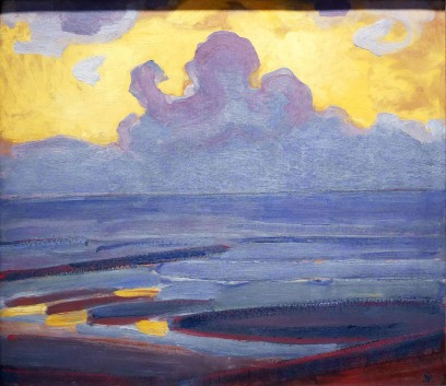 Piet Mondrian, By the sea.