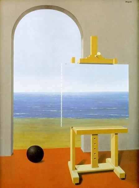 René Magritte, La condizione umana.
