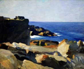 Edward Hopper, Square rock, Ogunquit.