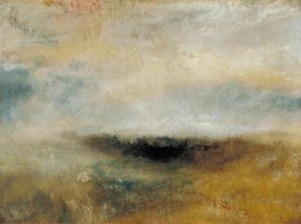 J. M. W. Turner, Seascape with Storm Coming.