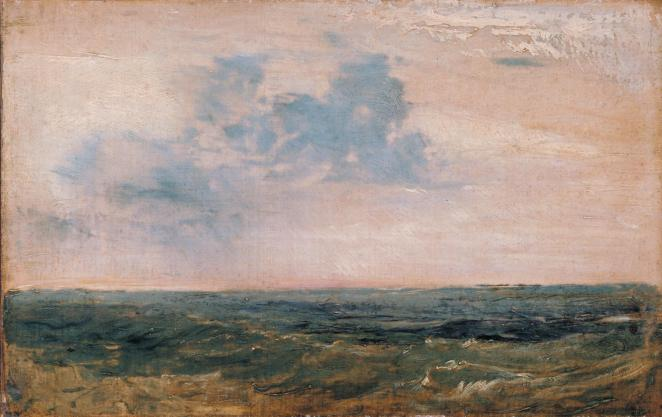 J. M. W. Turner, Study of Sea and Sky, Isle of Wight.