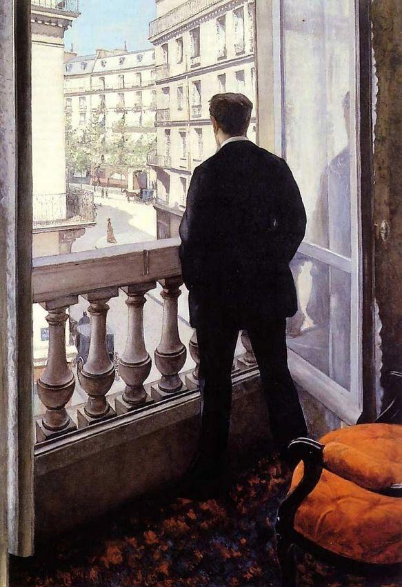 Gustave Caillebotte, Giovane uomo alla finestra
