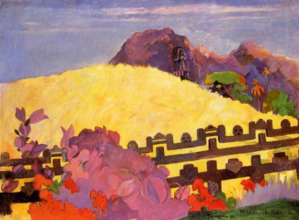 Paul Gauguin, Montagna sacra.