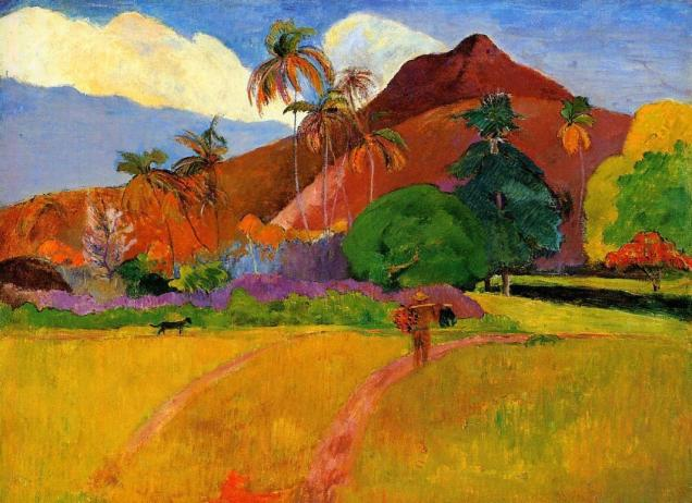 gauguin-tahitian-mountains-1893