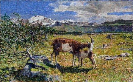 Giovanni Segantini, Alpe di maggio.