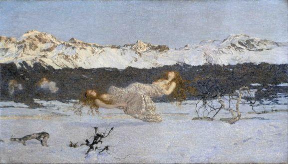 Giovanni Segantini, La punizione della lussuria.