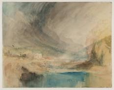 J. M. W. Turner, Storm over the Mountains.