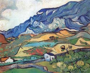 Vincent Van Gogh, Paesaggio montano.