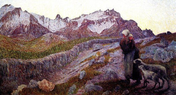 Giovanni Segantini, Le due madri.