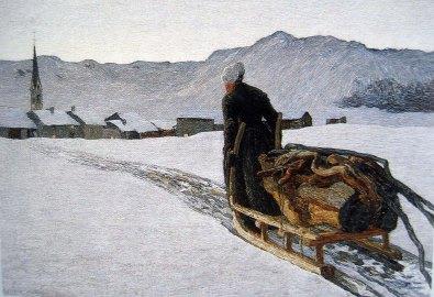 Giovanni Segantini, Il ritorno dal bosco.