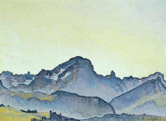 Ferdinand Hodler, Il Grand Muveran.