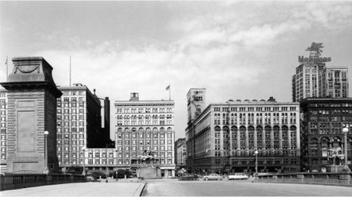 La Chicago dei primi grattacieli.