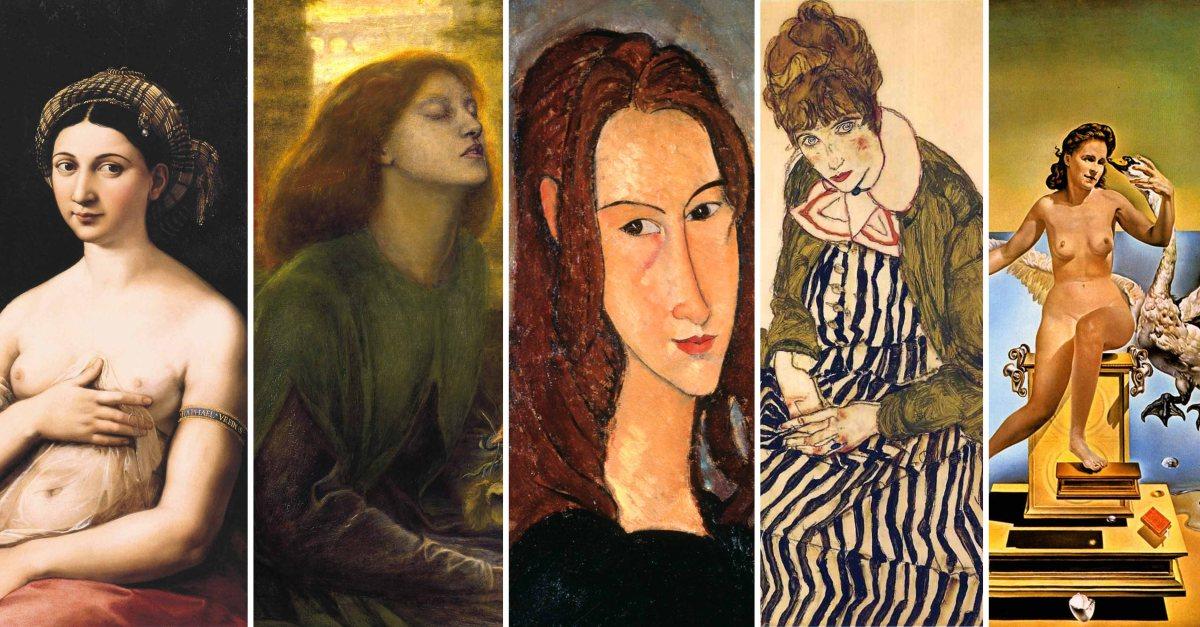 Quando un quadro diventa un gesto d'amore: come hanno celebrato le loro muse i grandi artisti?