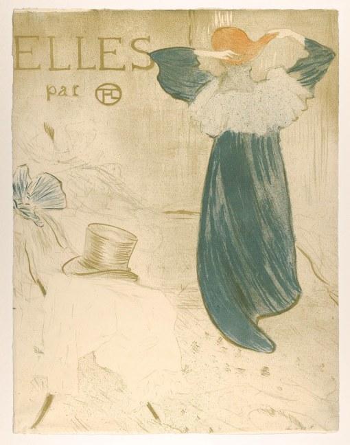 Title page for the suite: Elles