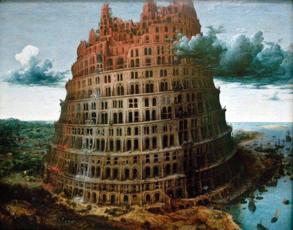 Piccola Torre Babele, Bruegel (circa 1565)