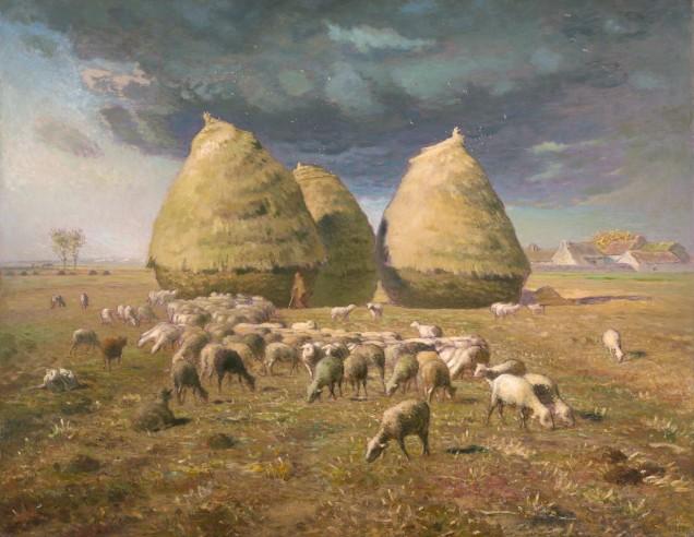 Jean-francois-millet-balle-fieno-autunno