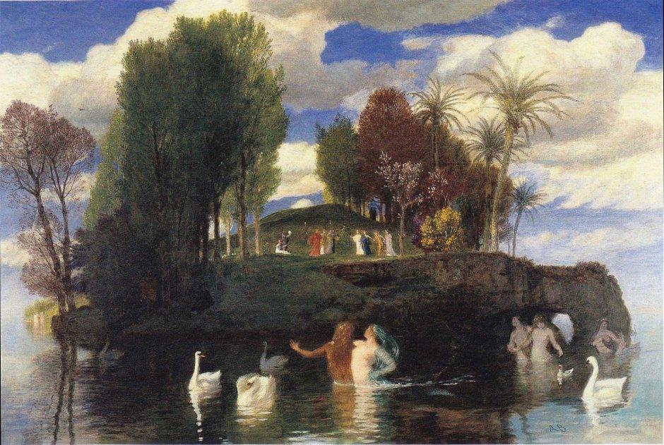Arnold-Böcklin-isola-dei-vivi-1888