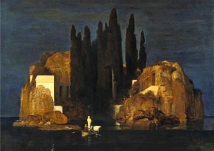 Arnold Böcklin, L'isola dei morti (prima versione)