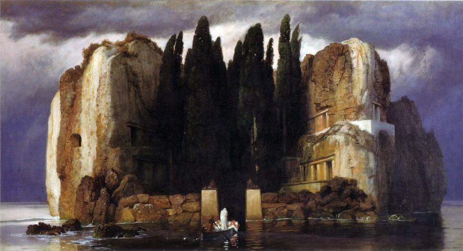 Arnold Böcklin, L'isola dei morti (quinta versione)