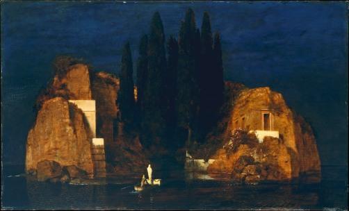 Arnold Böcklin, L'isola dei morti (seconda versione)