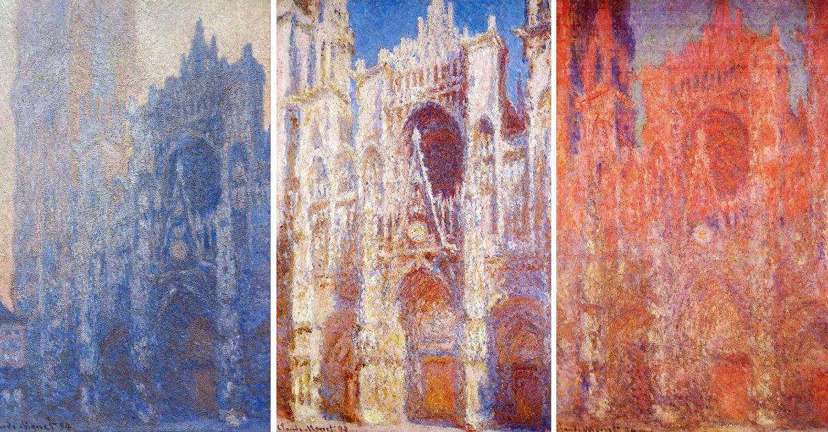 La Cattedrale di Rouen secondo Claude Monet: storia di un meraviglioso studio