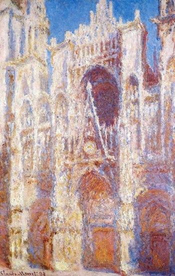 Claude-Monet-cattedrale-Rouen-al-sole