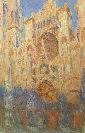 Claude-Monet-cattedrale-Rouen_facciata-tramonto
