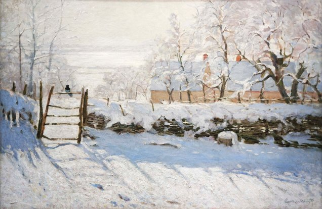 La_gazza_claude_Monet