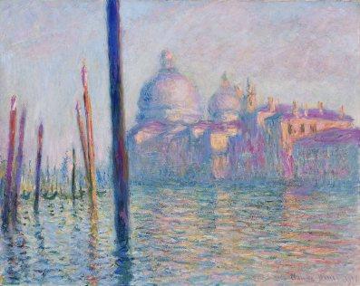 Claude Monet, il Canal Grande.