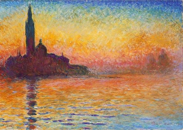 Claude Monet, San Giorgio Maggiore al Crepuscolo.