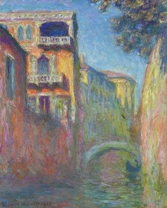 Claude Monet, Rio di Santa Salute, Venezia.