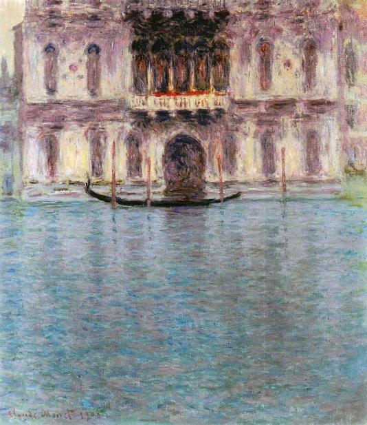 Claude Monet, Palazzo Contarini.