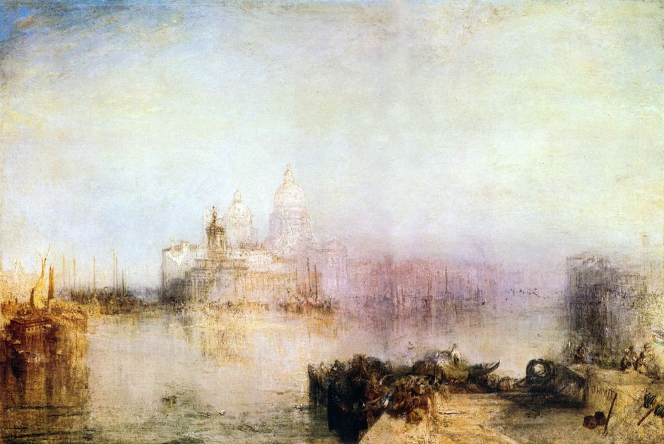 Joseph_Mallord_William_Turner_Braccio superiore del Canal Grande con San Simeone Piccolo