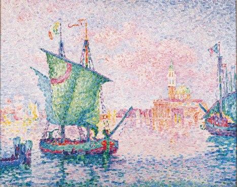 Paul Signac, Venezia, Nuvola rosa.