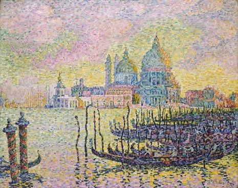 Paul Signac, Canal Grande, Venezia.