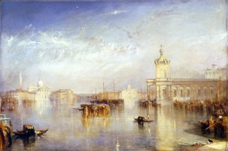 Joseph Mallord William Turner, Venezia, Dogana e San Giorgio.