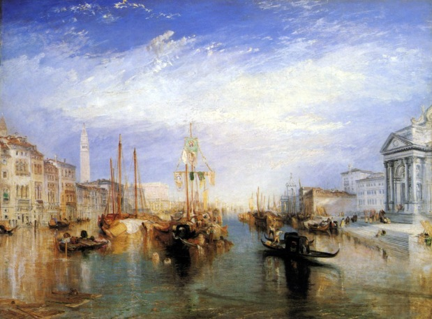 Joseph Mallord William Turner, Canal Grande, Venezia.