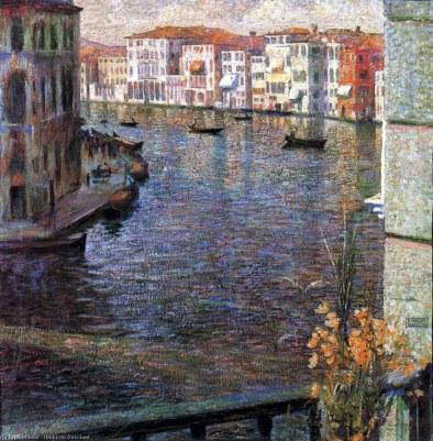 Umberto Boccioni, il Canal Grande a Venezia