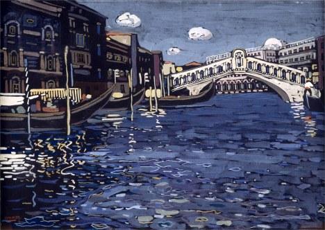 Vassily Kandinsky, Venezia n. 4.