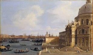 Canaletto, Santa Maria della Salute, Venezia.